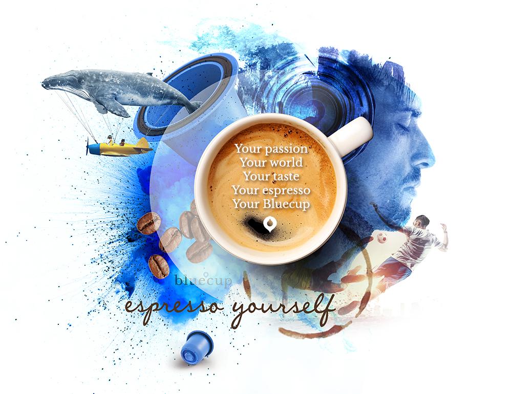 Bluecup: Reusable Nespresso capsule